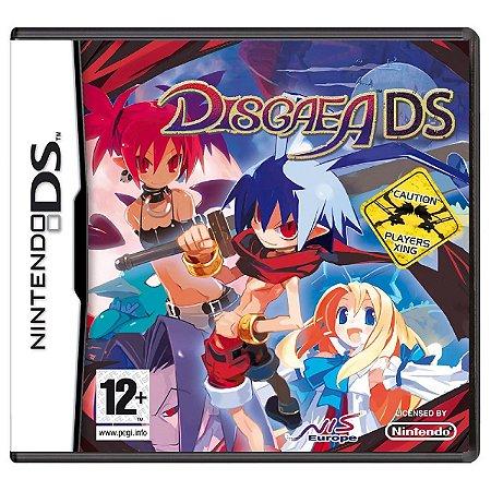 Jogo Novo Midia Fisica Disgaea DS Original para Nintendo DS