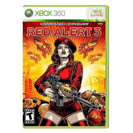 Jogo Americano Command & Conquer Red Alert 3 Para Xbox 360