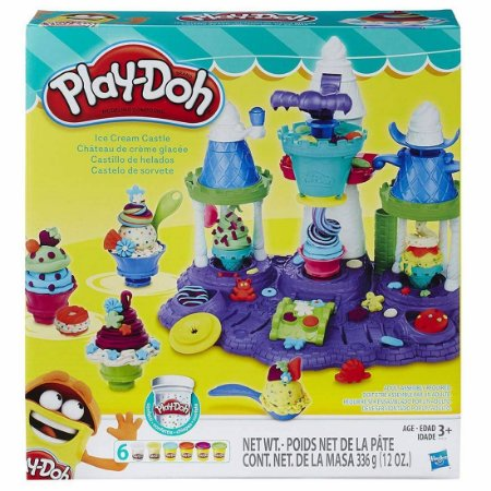 Brinquedo Super Massa Play Doh Castelo De Sorvete B5523