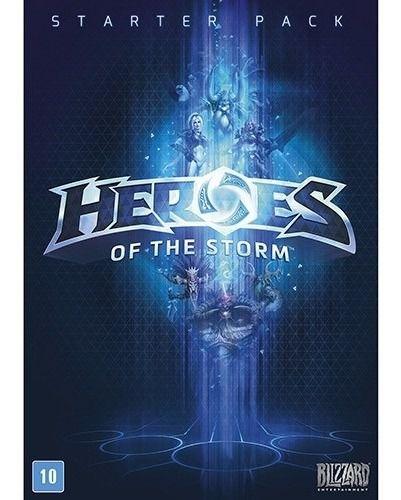 Jogo Novo Heroes Of The Storm Starter Pack Para Pc