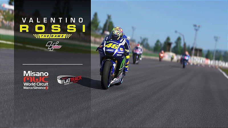 Jogo Mídia Física Valentino Rossi The Game Para Xbox One