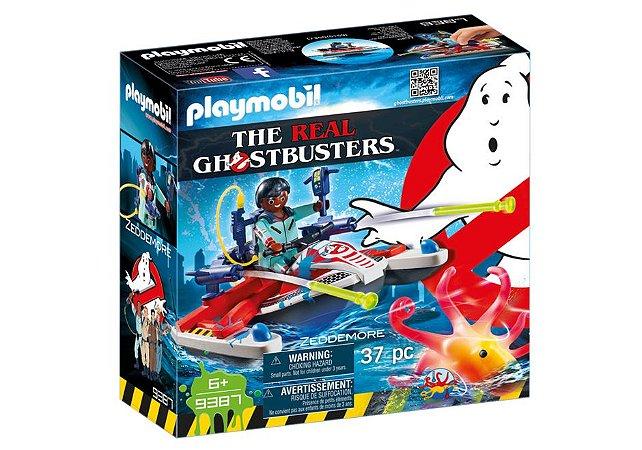Brinquedo Playmobil Caca Fantasma Jetski 9387