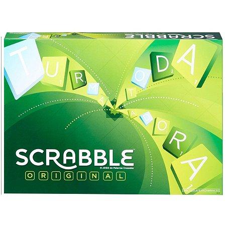 Jogo de Tabuleiro Scrabble Original da Mattel Games Gmy47