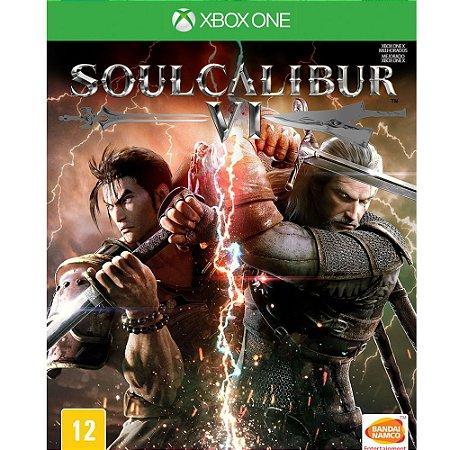 Jogo Mídia Física Soul Calibur Vi Original Para Xbox One