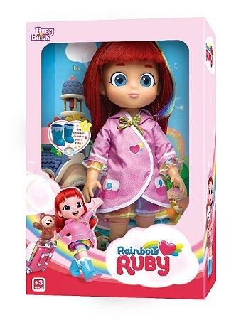 Brinquedo Boneca Rainbow Ruby Original Babybrink