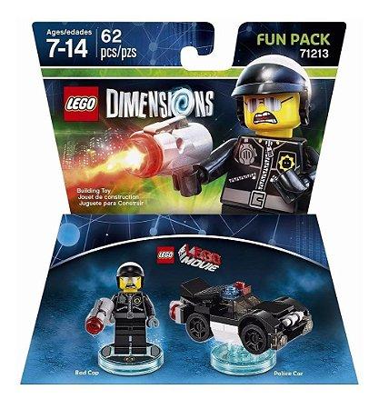 Novo Lacrado Lego Dimensions Fun Pack Bad Cop 71213