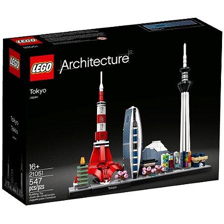 Lego Architecture A Cidade de Toquio com 547 Peças 21051