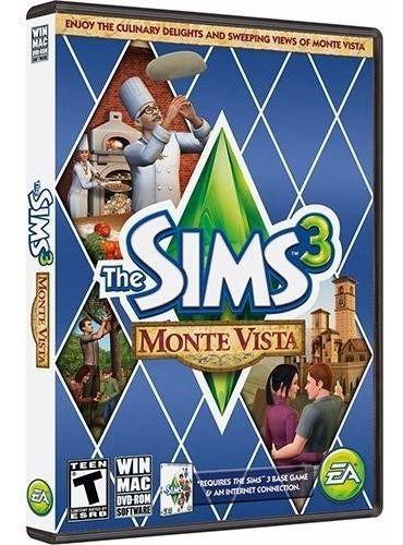 Pacote Expansão Física Do Jogo The Sims 3 Monte Vista De Pc