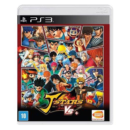 Jogo Midia Fisica J-stars Victory Vs Bandai Namco para Ps3
