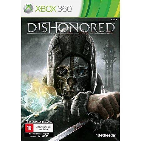 Jogo Mídia Física Original Dishonored Para Xbox 360