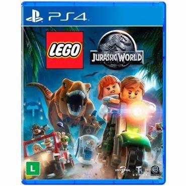 Jogo Mídia Física LEGO Jurassic World Para Ps4