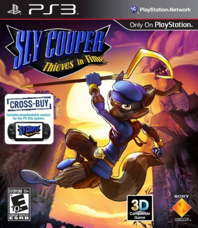 Jogo Novo Sly Cooper Thieves In Time Para Playstation 3 Ps3