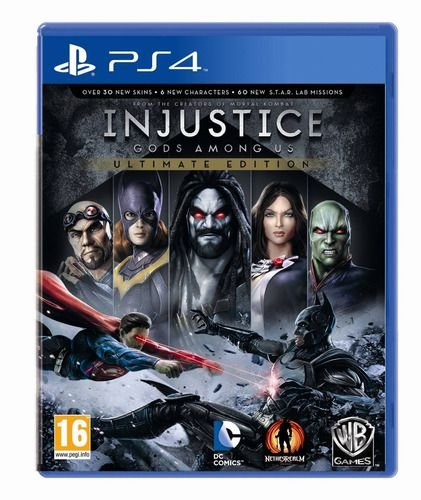 Jogo Injustice Gods Among Us Ultimate Editio Playstation Ps4