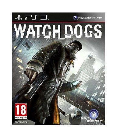 Jogo Ubisoft Mídia Física Watch Dogs Playstation Ps3