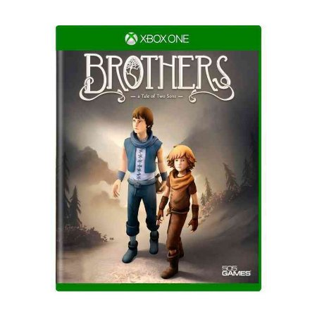 Jogo Mídia Física Brothers A Tale Of Two Sons Para Xbox One