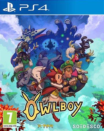 Jogo Lacrado Midia Fisica Owl Boy para PS4