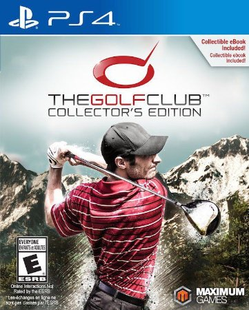 Jogo Novo The Golf Club Collectors Edition Para Ps4