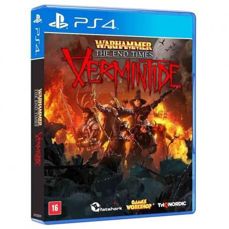Novo Jogo Warhammer The End Times Vermintide Playstation Ps4