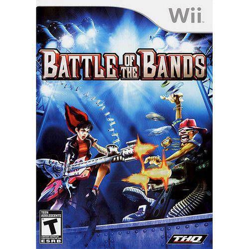 Jogo Novo Lacrado Para Wii Battle of the Bands Thq