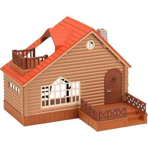 Brinquedo Sylvanian Families Casa De Madeira Epoch Magia
