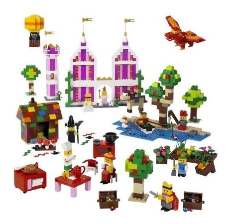 Lego Education Kit Escolar Playset Conjunto de Cenarios 9385