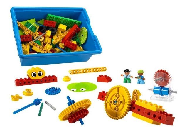 Lego Education Máquinas Simples Iniciais Conjunto Principal