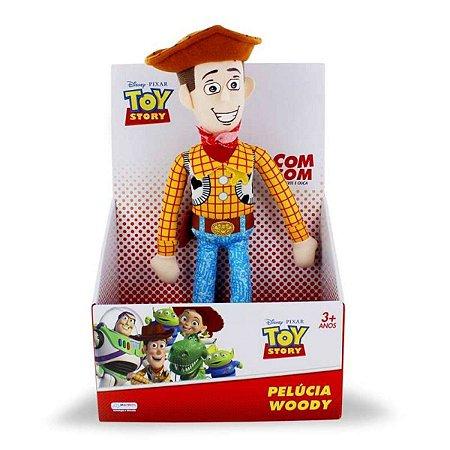 Pelúcia Disney Pixar Toy Story Woody da Multikids - BR389