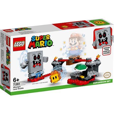 Lego Super Mario Expansao Reves das Lavas do Esmagao 71364
