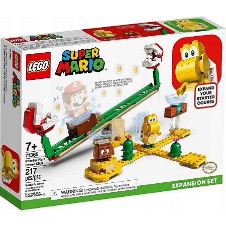 Lego Super Mario Expansao Derrapagem da Planta Piranha 71365