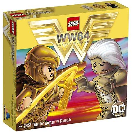 Lego DC Comics Super Heroes Mulher Maravilha e Cheetah 76157