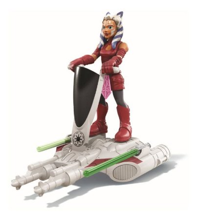 Brinquedo Star Wars Fleet Gear Sort E9344 Ahsoka Tano Hasbro