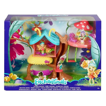 Playset Enchantimals Casa Butterfly na Arvore Mattel Gbx08