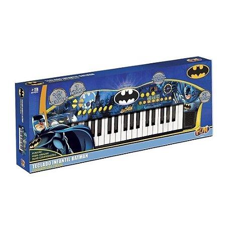 Brinquedo Teclado Batman Cavaleiro das Trevas da Fun F00043