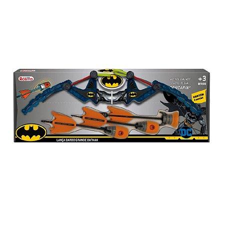 Rosita DC Comics Batman - Lança Dardo Grande Batman - 9513