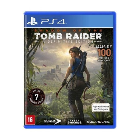 Jogo Shadow Of The Tomb Raider - A Definitive edition - PS4