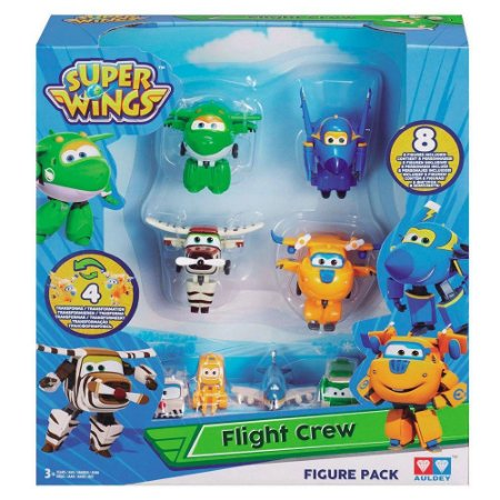 Figura Super Wings Equipe de Bordo Sortida Alpha Group 84347