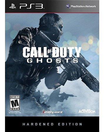 Box Novo Call Of Duty Ghosts Hardened Edition Playstation 3