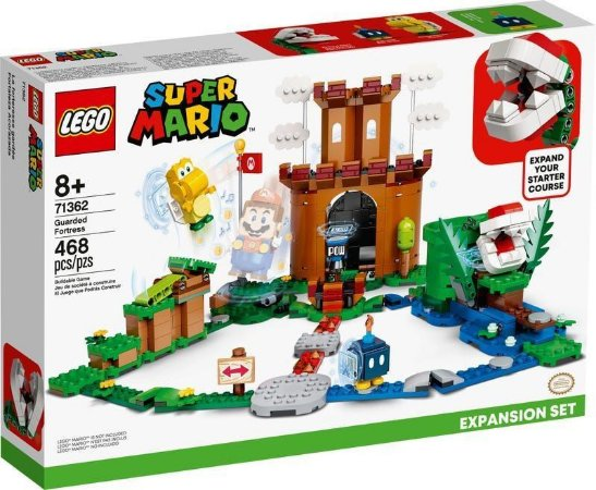 Blocos Lego Super Mario Fortaleza Protegida Expansao 71362