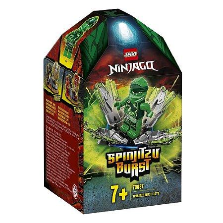 Lego Ninjago - Rajada de Spinjitzu Lloyd - 48 peças - 70687