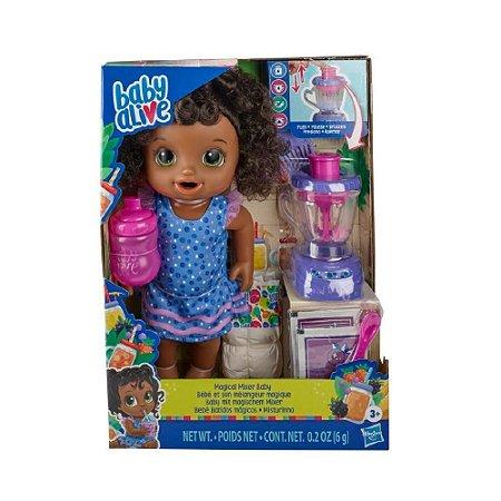 Hasbro Baby Alive - Bebê Misturinha Magical Negra - E6945