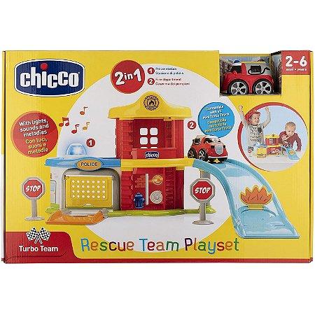 Brinquedo Playset Rescue Team Estaçao de Resgate da Chicco