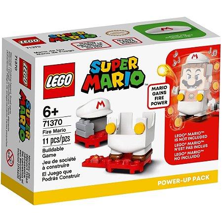 Lego Super Mario Power Up Mario de Fogo com 11 Peças 71370