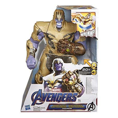 Figura Marvel Avengers Power Punch Thanos 2.0 Deluxe E7406