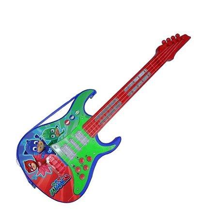 Brinquedo Candide Guitarra Linha Musical PJMasks 1724