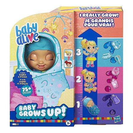 Boneca Baby Alive Grows Up Bebe Cresce Feliz Surpresa E8199