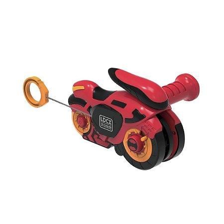 Brinquedo Moto Fly Wheels Lançador Candide Garagem S.A. 4801