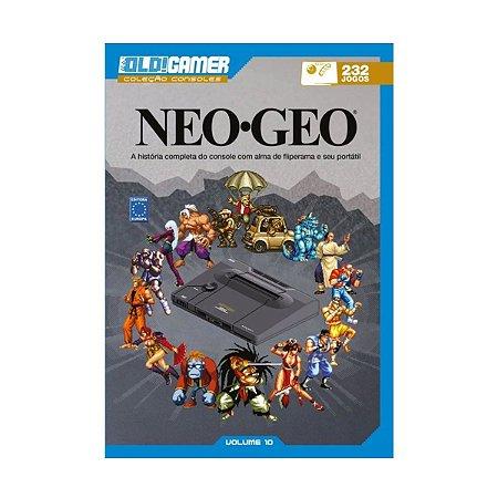 Livro Old Gamer Coleção Neo Geo Volume 10