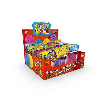 Brinquedo Gruda Bola Mundo Slime Surpresa Dtc 5230