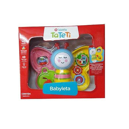 Brinquedo Educativo Infantil TA TE TI Babyleta Rosa 896