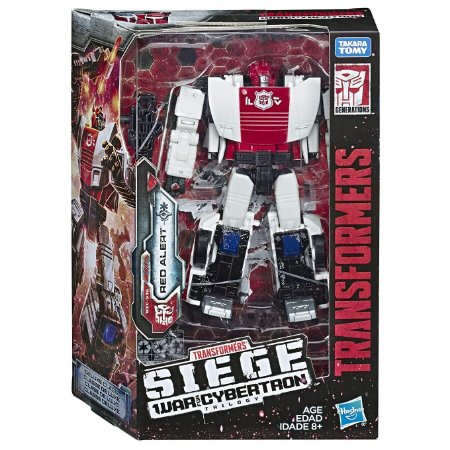 Transformers Siege War for Cybertron Trilogy Red Alert E3432